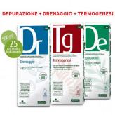 Kit fitoestratti Dieta Zero - Depurazione Drenaggio Termogenesi