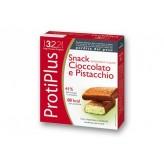 Barrette Protiplus al Cioccolato e Pistacchio - 6 snack