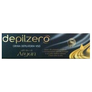 Crema depilatoria per il viso all' Olio Argan Depilzero - 50 ml