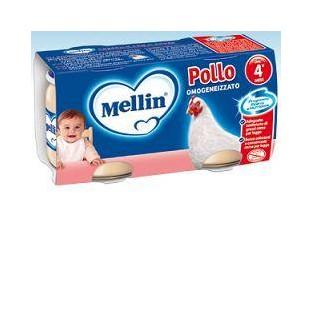 Omogeneizzato al pollo Mellin 4M+ - 2 vasetti