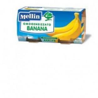 Omogeneizzato alla banana Mellin 4M+ - 2 vasetti