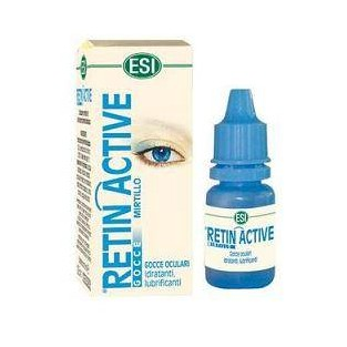 Gocce oculari Retin Active al mirtillo - 10 ml