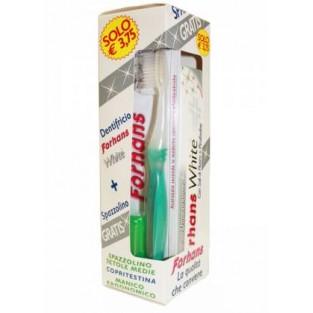 Dentifricio White e spazzolino Forhans