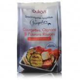 Snack Dukan alle verdure liofilizzate gusto zucchine cipolle e peperoni rossi