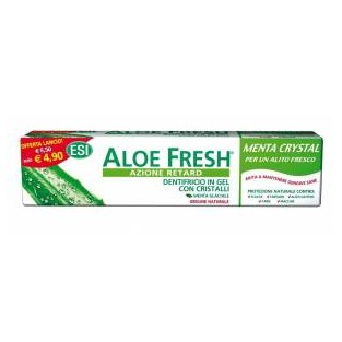 Dentifricio Aloe Fresh Retard Esi alla menta forte - 100 ml
