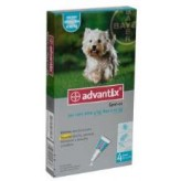 Advantix Spot On per Cani da 4 a 10 kg - 4 Pipette