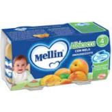 Omogeneizzato all'albicocca e mela Mellin