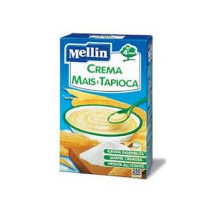 Crema con mais e tapioca Mellin - 250 g
