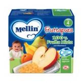 Fruttapura Mellin al gusto pera - 4 vasetti