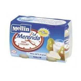 Merenda allo yogurt e pera Mellin - 2 vasetti