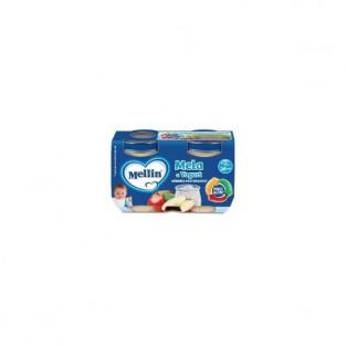 Merenda gusto yogurt e mela Mellin - 2 vasetti