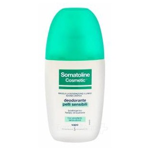Deodorante vapo Somatoline per pelli sensibili - 75 ml