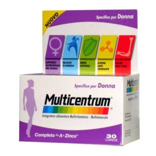 Multicentrum donna - 30 compresse