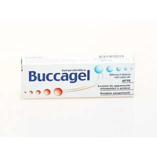Gel protettivo Buccagel per afte - 15 ml
