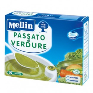 Passato di verdure Mellin - 8 buste
