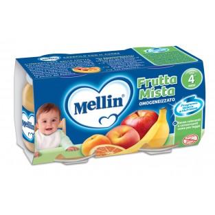 Omogeneizzato alla frutta mista Mellin 4M+ - 2 vasetti