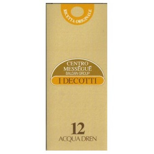 Decotto Acqua dren 12 Centro Méssegué - 500 ml