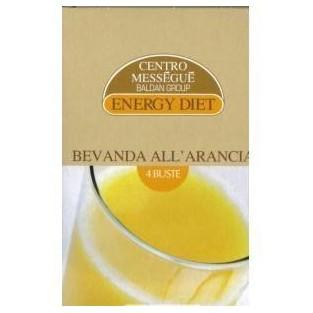 Bevanda all'arancia Energy diet Centro Méssegué - 4 buste