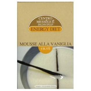 Mousse alla vaniglia Energy Diet Centro Méssegué - 4 buste