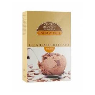 Gelato al cioccolato Energy Diet Centro Méssegué - 4 buste