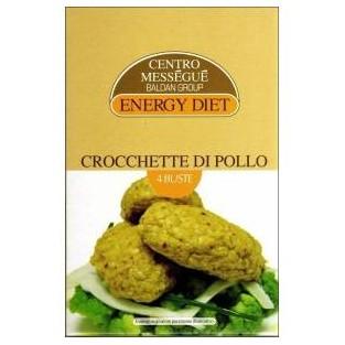 Crocchette di pollo Energy Diet Centro Méssegué - 4 buste