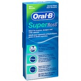 Fili interdentali Super Floss Oral B - 50 pezzi