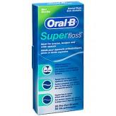 Fili interdentali Super Floss Oral B - 50 pezzi