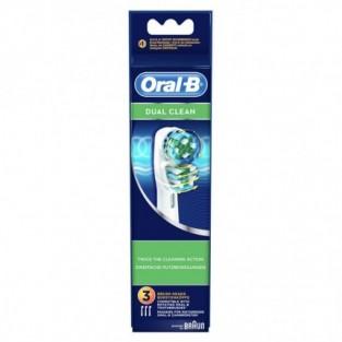 Testine di ricambio Dual Clean Oral B - 3 pezzi