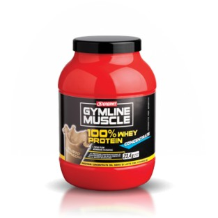 Proteine concentrate al cappuccino Enervit Gymline Muscle 100% Whey - 700g