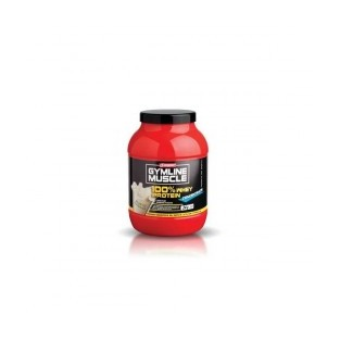 Proteine concentrate alla banana Enervit Gymline Muscle 100% Whey - 700 g