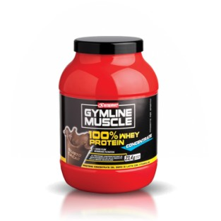 Proteine concentrate al cacao Enervit Gymline Muscle 100% Whey - 700 g