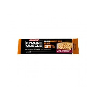 High protein bar 37% Enervit Gymline Muscle caramel toffee