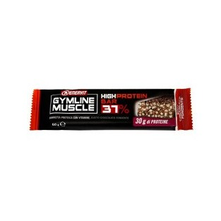 High protein bar 37% Enervit Gymline Muscle cioccolato fondente