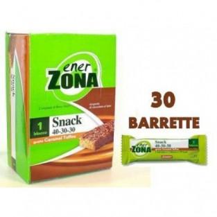 Barrette al caramel toffee Enerzona - 30 pezzi