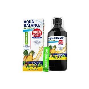 Aqua Balance rassodan drenante forte gusto ananas - 500 ml
