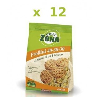 Cofanetto frollini all'avena Enerzona - 12 pack