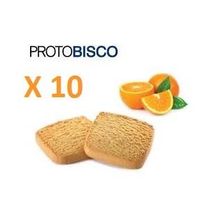 Protobisco Ciao Carb all'arancia - 10 pezzi