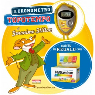 Multicentrum Junior con gadget di Geronimo Stilton - 30 compresse