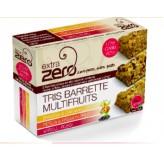 Tris di barrette Extra Zero Multifruits