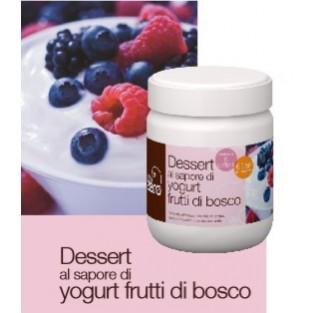 Dessert Yogurt ai frutti di bosco Dieta Zero - 200 g