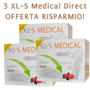3 XLS Medical Direct: offerta risparmio
