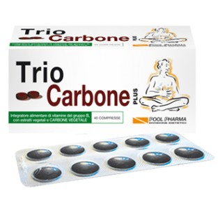 Trio carbone plus - 40 compresse