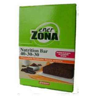 Barrette arancia e cioccolato Enerzona Nutrition bar - 20 pezzi