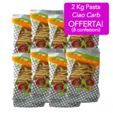 Pasta Ciao Carb 2 Kg formato penne