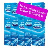 Durex Jeans - 10 confezioni da 6 preservativi