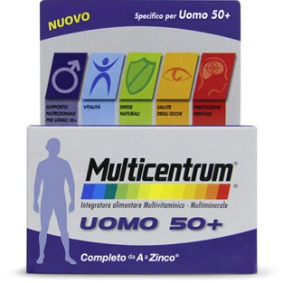 Multicentrum Uomo 50+ - 30 cpr