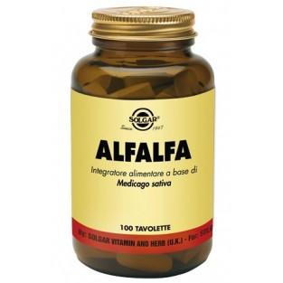 Alfalfa Solgar - 100 tavolette