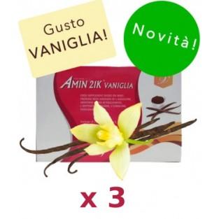 Kit Promo: 3 confezioni Amin 21 K Vaniglia