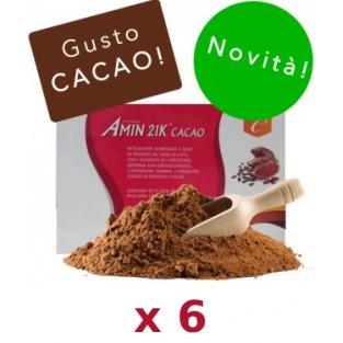 Kit Promo: 6 confezioni Amin 21 K Cacao