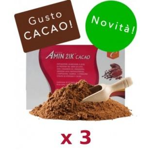 Kit Promo: 3 confezioni Amin 21 K Cacao